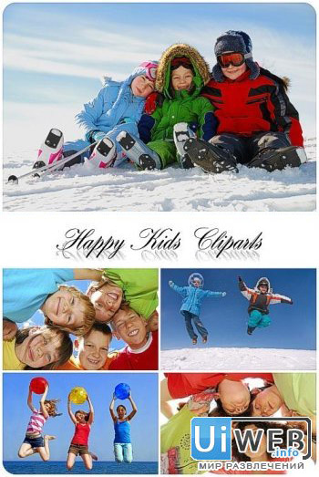 Фотосток - Happy Kids Cliparts