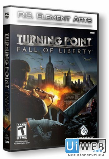 Turning Point - Fall of Liberty ( 2008 / Rus / RePack )