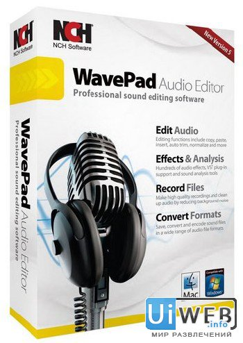 WavePad Sound Editor Master`s Edition 6.61 ( Multi )